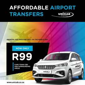 Cape Town Airport Transfer For Only R99