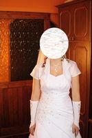 Suknia ślubna 36/38 raz ubrana. Wyprana.