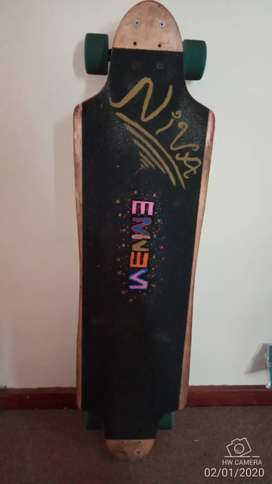 Longboard for sale or swop for bmx