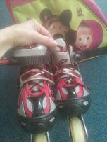 Продам ролики детские р 30-34 с сумкой
