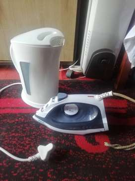 Pineware kettle and ottimo iron, working perfect
