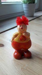 Pajac, clown - figurka ceramiczna