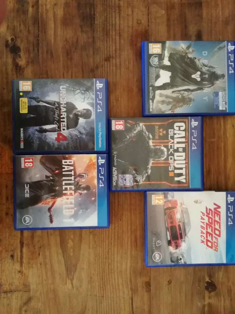 Ps4 games/neg. 0