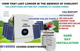 SOLAR SYSTEM INSTALLATION AND SALES