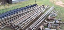 Pipes: Irrigation and Plastic Pipes