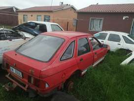 Ford Sierra striping for spares