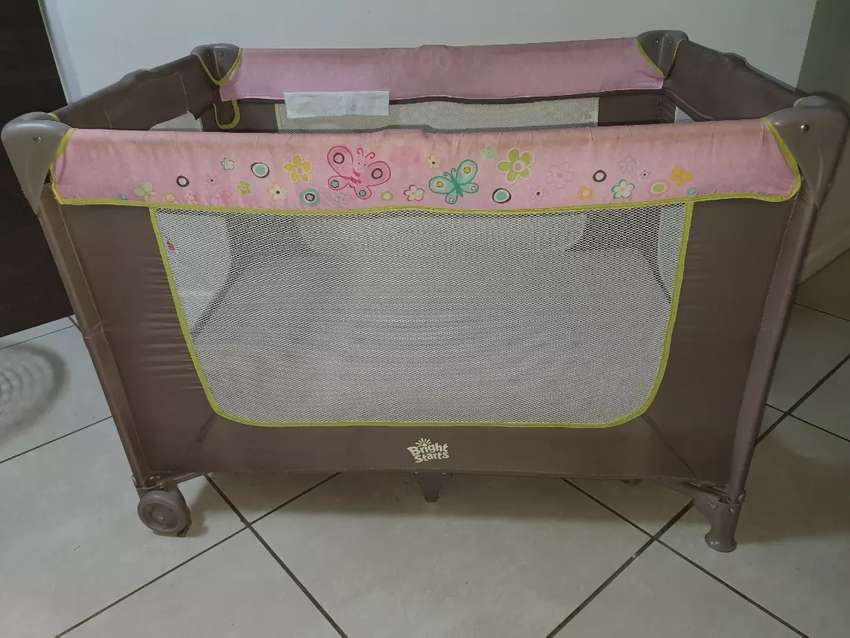 Bright Starts Camp Cot 0