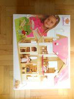 Eichhorn drewniany domek dla lalek mebelki lalki meble
