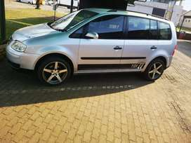 To swop or sell vw touran 1.9