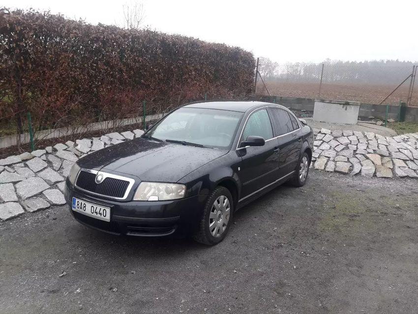 """""""Rezervace"""" Škoda superb 2004 1,9tdi 96kw, 208tkm 0"""