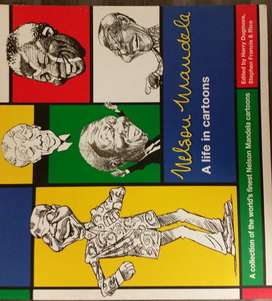 Nelson Mandela - A life in Cartoons - Harry Dugmore