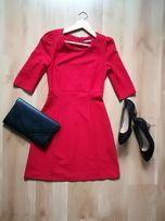 Sukienka czerwona orsay 36