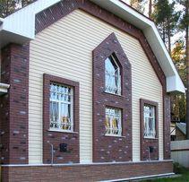Строительство дома под ключ. Кровля. Фасадные отделочные работы!