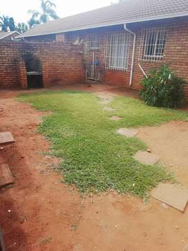 Spacious two bedroom house in a safe complex for sale in pretoria park