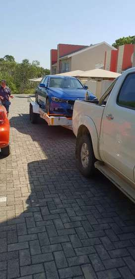 Trailer and bakkie for hire