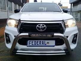 Pre-Owned 2016 Toyota Hilux 2.4 GD-6 Double Cab 4X4 Raider Manual i