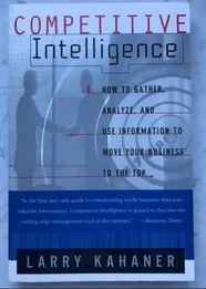 "Бизнес книги на англ.яз. ""The Competitive Intelligence"" Larry Kahaner"