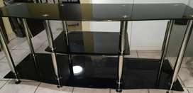 Glass TV cabinet for sale