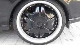 диски R-18 с резиной на ВАЗ
