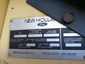 New Holland Clayson Stroper 8060