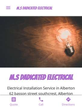 M.S Dadicated Electrical