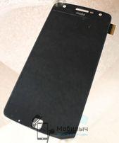 Дисплей с тачскрином Motorola XT1635-02 Moto Z Play черный белый