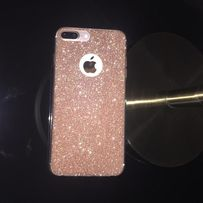 Etui Brokatowe Glitter iPhone 5 SE 6 s 7 8 PLUS X