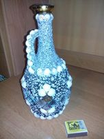 Сувенир бутылка амфора ручной работы