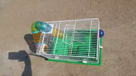 Complete hamster cages