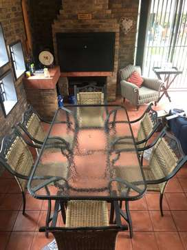 Six Seater Patio Table