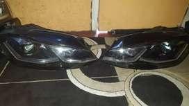 Golf 7.5 Tsi xenon headlights complete with all the Accessories