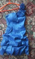 Sukienka na wesele chabrowa rozm.38