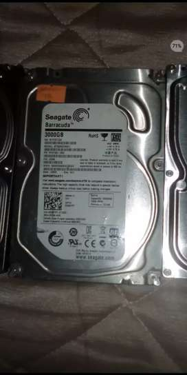 3 terabyte segate desktop Hard drive available.