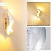 Dekoracyjny Kinkiet srebrny Paul Neuhaus 9030-21 lampa ścienna NEVIS