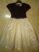 Платье нарядное для девочки 12 лет (куплено в США)
