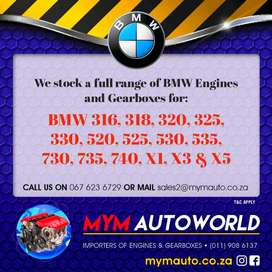 MYM IMPORTERS OF USED BMW ENGINES AND GEARBOXES