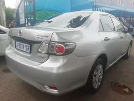 Toyota corolla is available now for sale