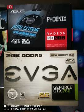 Wanna swop 2 graphics cards for 1