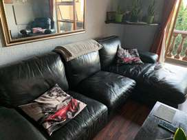 L Shape Leather couch