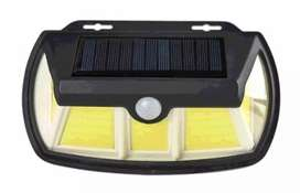 Solar motion sensor wall light L