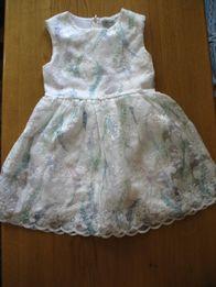Нарядное платье NEXT 122 размера