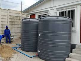 Water tank supply and installation