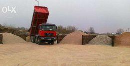Piasek kamień ziemia gruz transport sprzedaż kruszyw 1-27T WIELICZKA!
