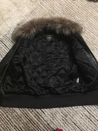 Кожаная куртка Обухов - изображение 3