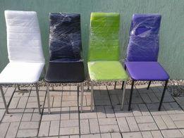 Krzesło`Krzesła`Tapicerowane`Limonka`Popiel`Czarne`Czerwone`Jadalnia`
