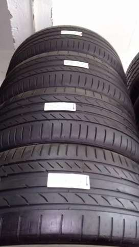 255/40/18 x2 and 225/45/18 Continenetal Runflat for BMW for sale 90%
