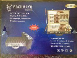 """Набор ножей Bachmayer """"BY-16530""""25 предм.в дипломате,Швеция,12000₽"""