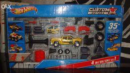"Машина - конструктор Hot Wheels ""Тачку на прокачку"" 4 в 1"