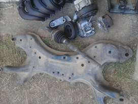Toyota corolla verso side shaft with outer cv joint for sale