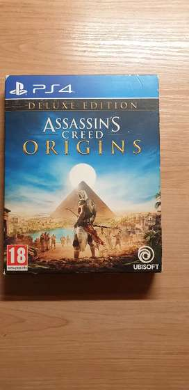 Ps4 Assassins Greed Origins Deluxe Edition